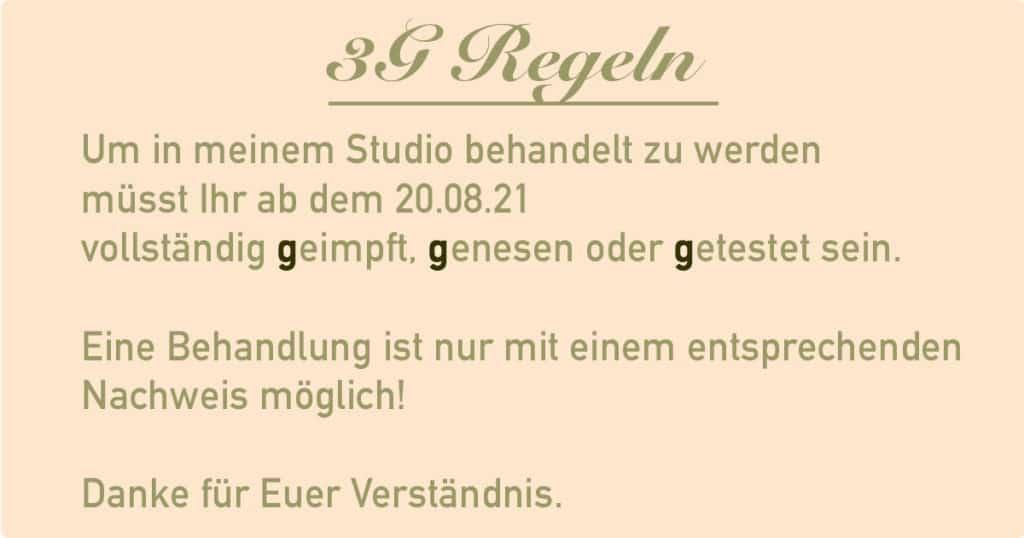 3G Regeln